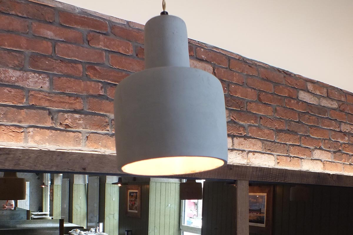 The Garrison Hotel, Fort William Concrete Pendant