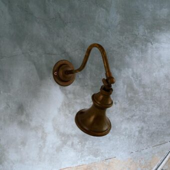Traditional Antique Brass Spotlight