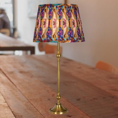 Traditional Antique Brass Table Lamp Base