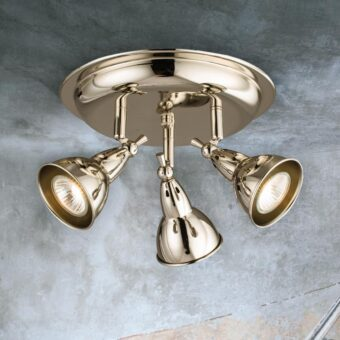 Triple Polished Nickel Spotlight Plate