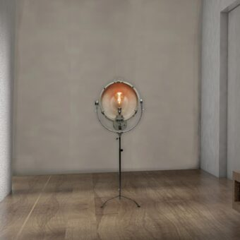 Rustic Reclaimed Floor Spotlight