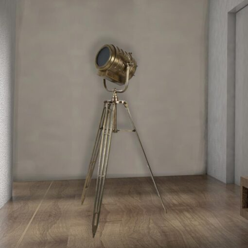 Tripod Theatre Floor Lamp