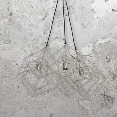 Vintage Cage Cluster Pendant Lights