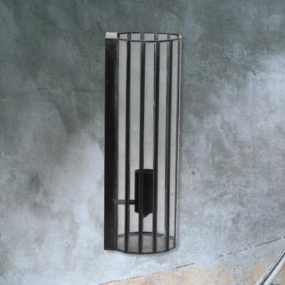 Vintage Glass Panels Wall Light