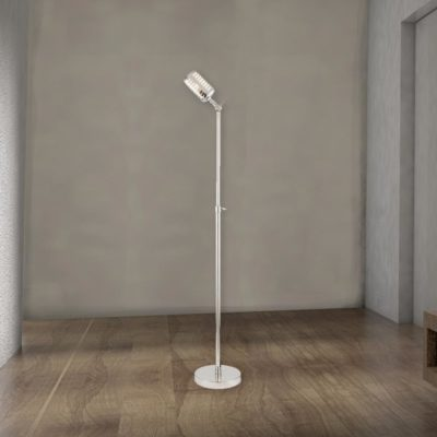 Vintage Microphone Floor Lamp