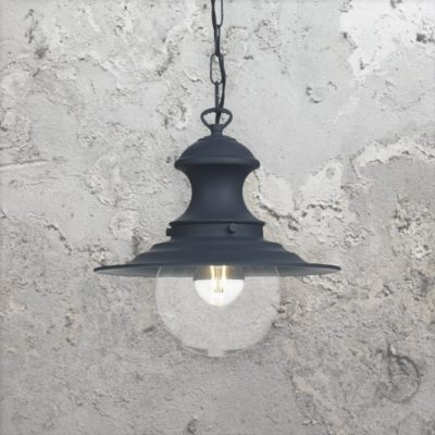 Vintage Navy Pendant Light
