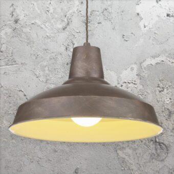 Weathered Bronze Industrial Pendant Light