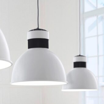 White Commercial LED Pendant Light