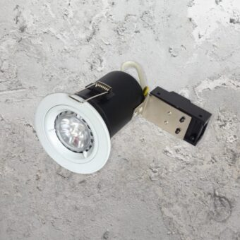 White Fixed Fire Rated LED Downlight