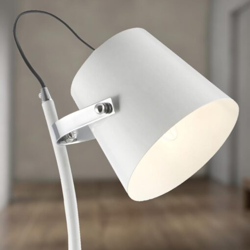 White Floor Lamp
