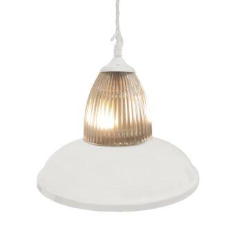 White Glass Pendant Light,Industrial Traditional Glass Pendant Light