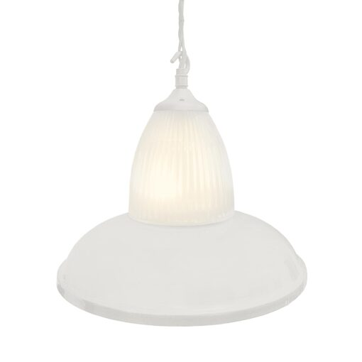 White Glass Pendant Light,Industrial Traditional Glass Pendant Light