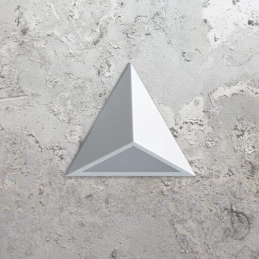 White LED Triangle Wall Light,