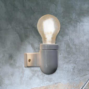White Porcelain Wall Light