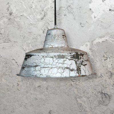 White Rust Pendant Light