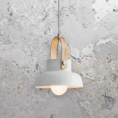 White Scandinavian Pendant Light