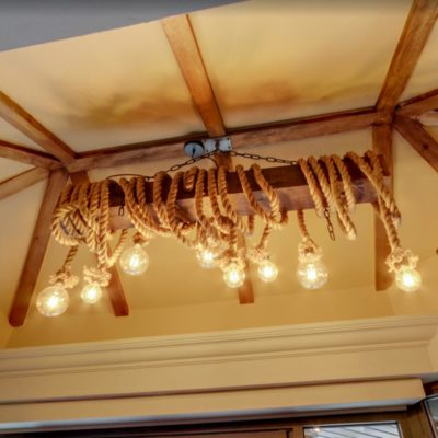 Wooden Beam Lighting