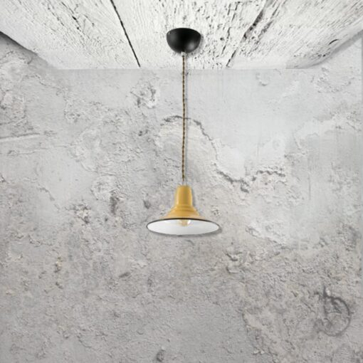 Yellow Pendant Light