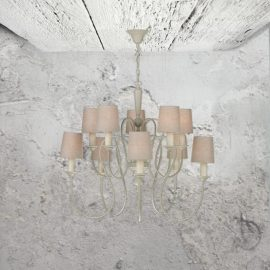 10 Light Antique French Chandelier