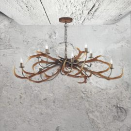 10 Light Antler Chandelier