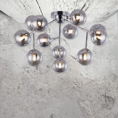 12 Globe Flush Mount Ceiling Lights