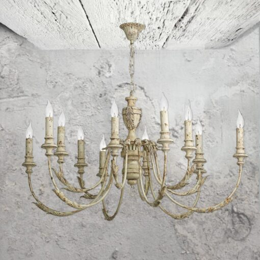 12 light rustic french chandelier cl 34751 e2 contract lighting uk 12 light rustic french chandelier aloadofball Images
