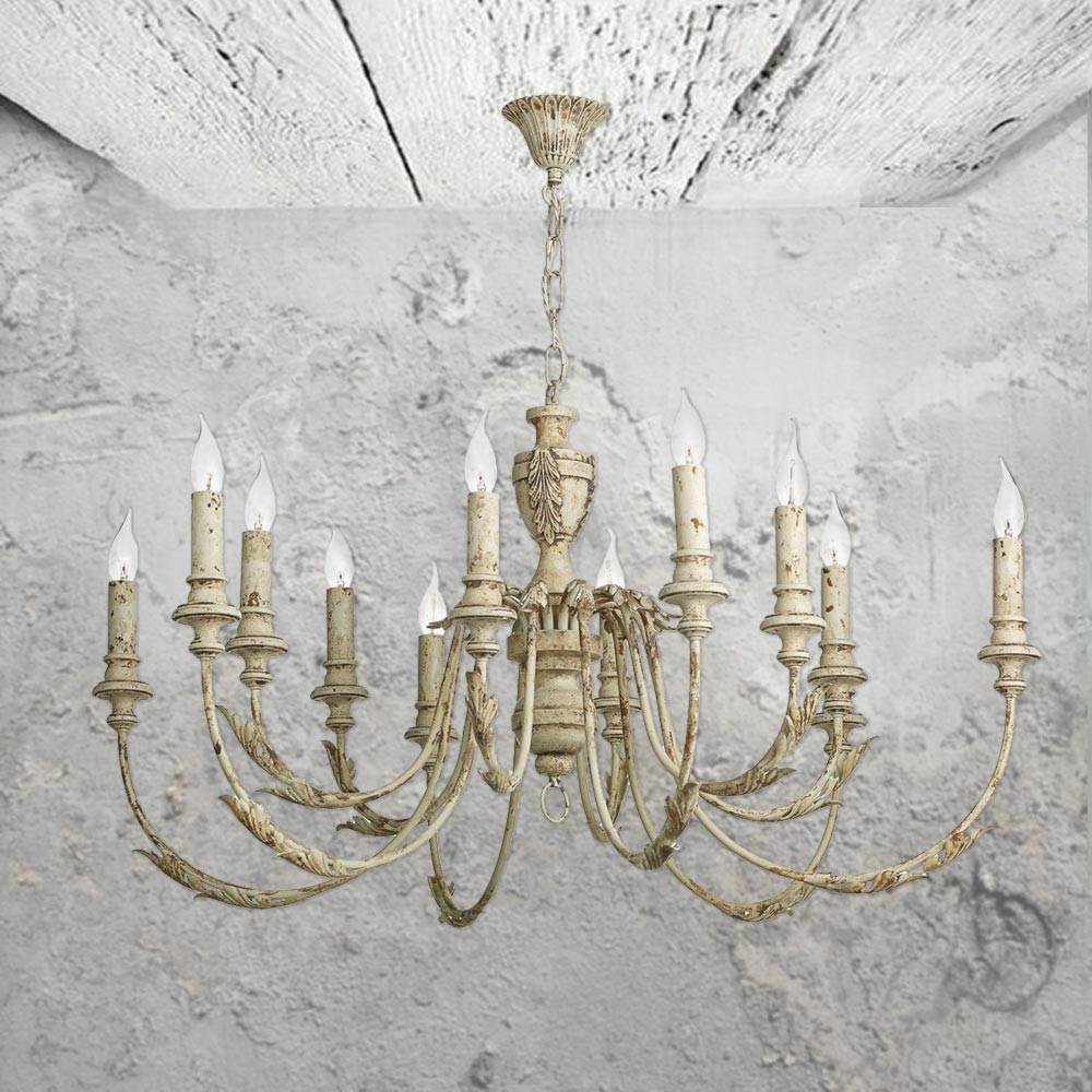 12 light rustic french chandelier cl 34751 e2 contract lighting uk 12 light rustic french chandelier aloadofball Image collections