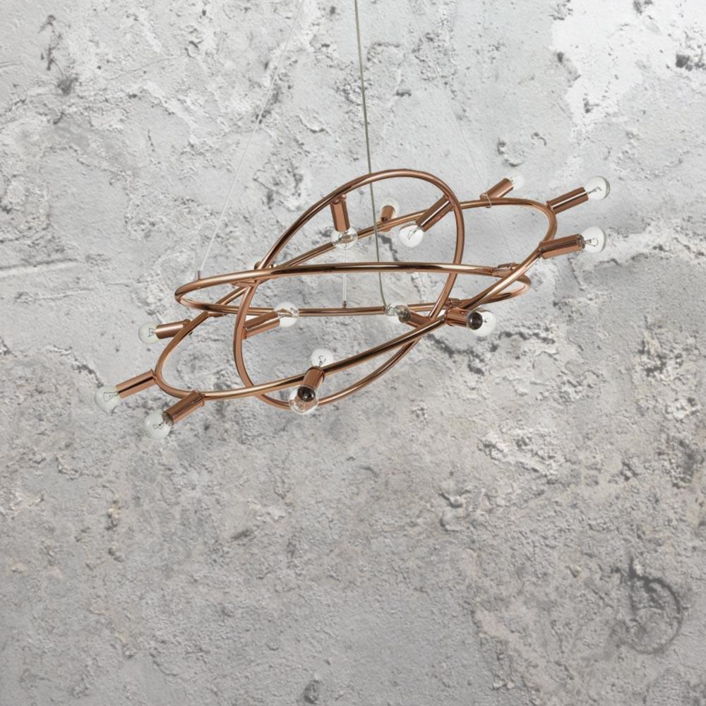 15 light copper chandelier cl 33025 e2 contract lighting 15 light copper chandelier aloadofball Choice Image