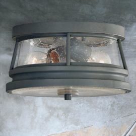 2 Light Outdoor Flush Fitting