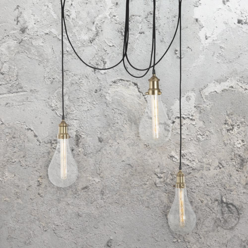 crackle glass lamps uk