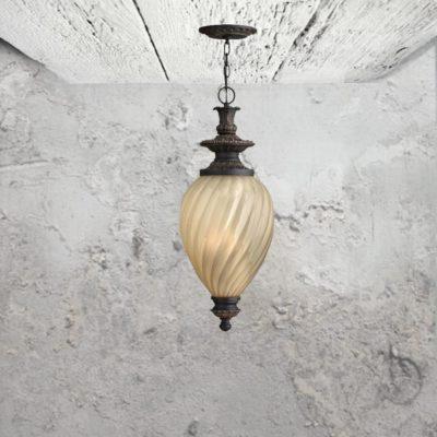 3 Light Outdoor Pendant
