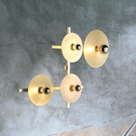 4 Light Circular Wall Light