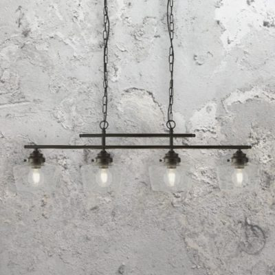 4 Light Schoolhouse Pendant