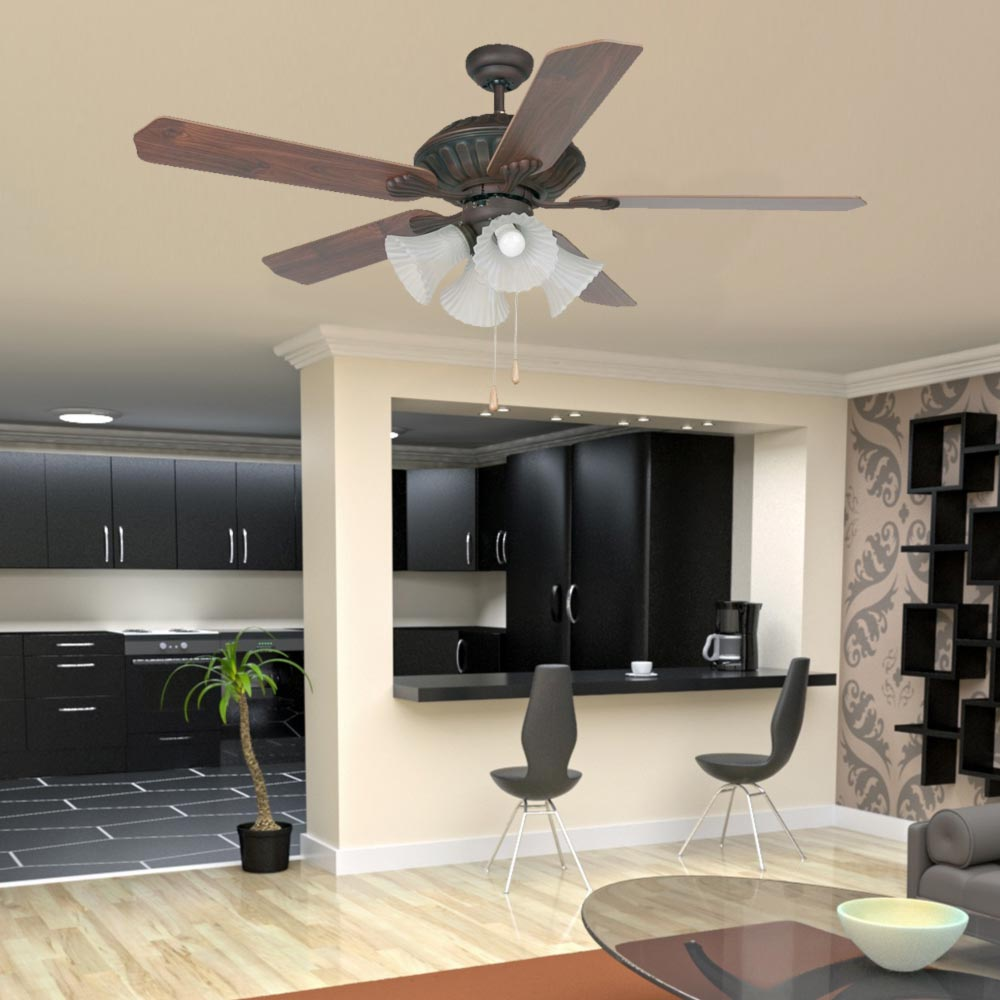 4 light traditional ceiling fan cl 31971 e2 contract lighting uk 4 light traditional ceiling fan aloadofball Gallery
