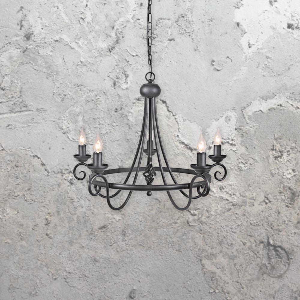 5 light wrought iron chandelier5 light chandelierwrought iron chandelier