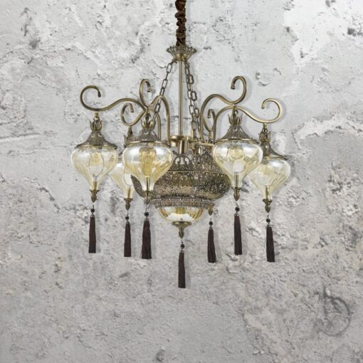 9 Light Tassel Chandelier