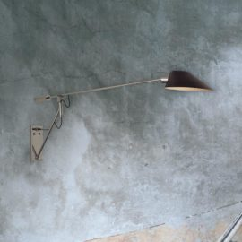 Adjustable Long Arm Wall Light