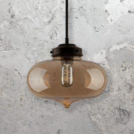 Modern industrial pendant lighting e2 contract lighting uk amber glass pendant lamp aloadofball Images