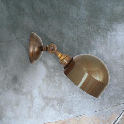 Antique Brass Adjustable Wall Light