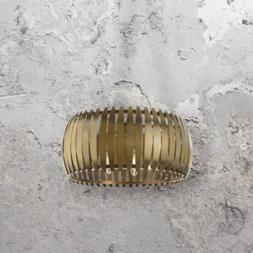 Antique Brass Leaf Pendant Light