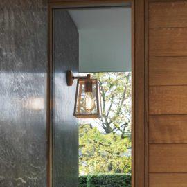 Antique Brass Outdoor Wall Light