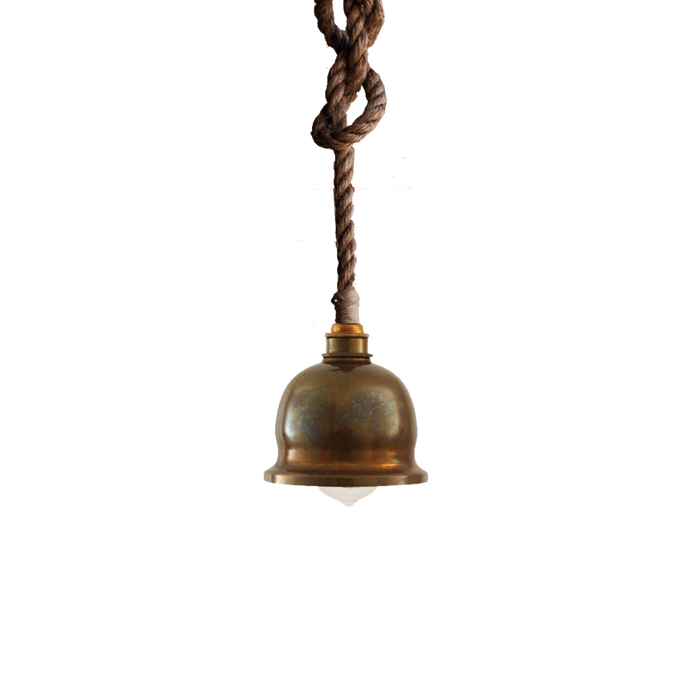 E2 Contract Lighting : Products : Antique Brass Rope ...