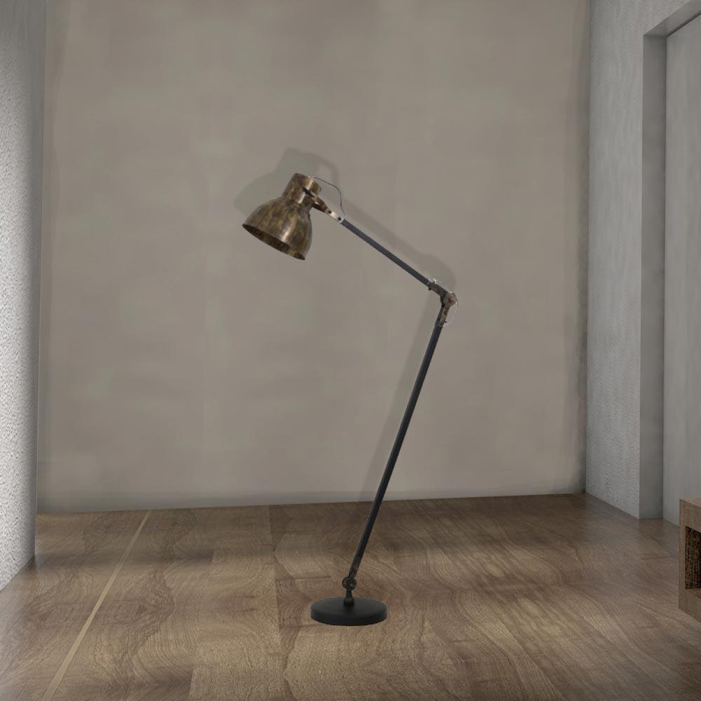 Industrial Antique Bronze Adjustable Floor Lamp,antique Bronze Floor Lamp