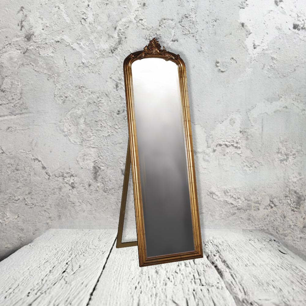 antique gold floor mirror cl 33646 mirrors e2 contract On gold floor standing mirror