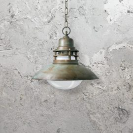 Antique Rustic Pendant Light