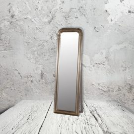 Antique Silver Floor Mirror