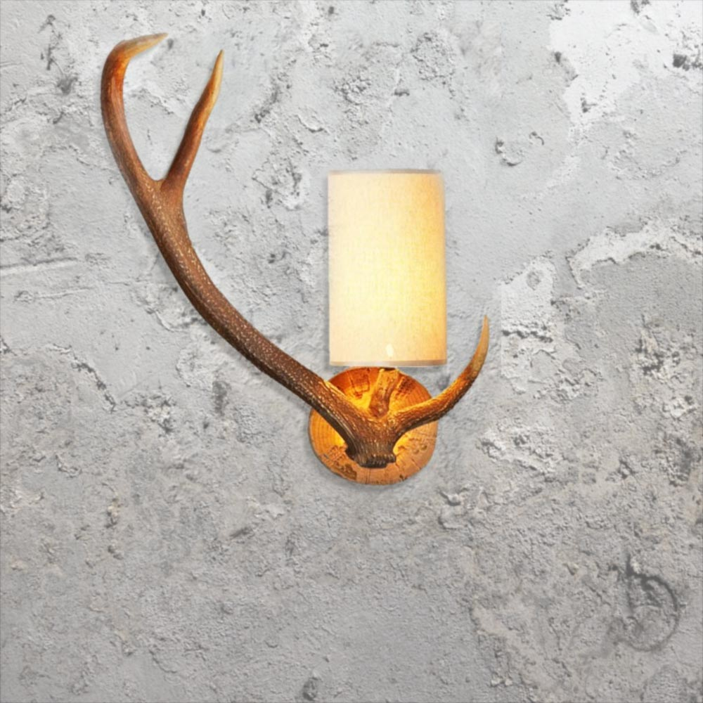 E2 Contract Lighting Products Antler Wall Light Cl 24727 Uk