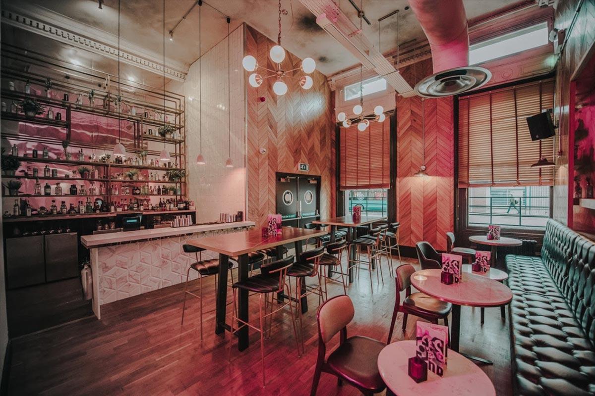 Bar Soba, Derby Bar Lights