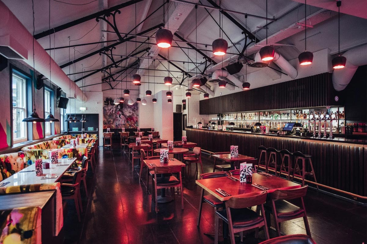 Bar Soba, Derby Lighting