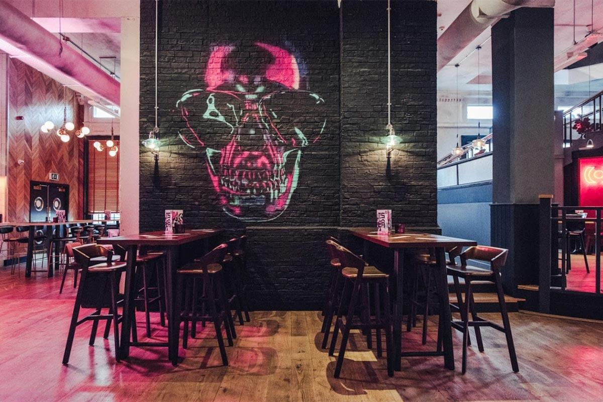 Bar Soba, Derby Wall Light